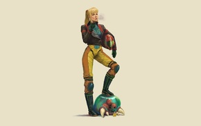 Metroid Prime, Samus Aran, fan art, Nintendo, video games