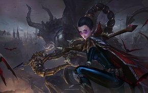 video game characters, League of Legends, video games, vayne
