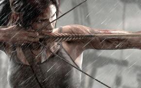hair bows, Tomb Raider, Archer