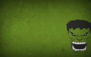 Marvel Heroes, Hulk, minimalism, Blo0p, superhero, Marvel Cinematic Universe