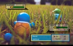 трава, Покемон, игры