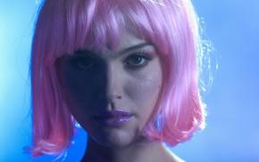 Closer, Natalie Portman, pink hair
