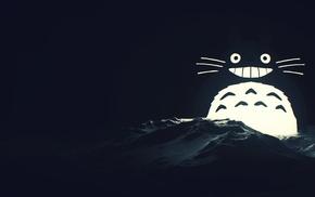 Totoro, My Neighbor Totoro, ice, digital art, seals, SliD3