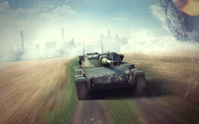 World of Tanks, video games, wargaming, ELC AMX