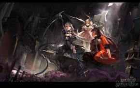 RPG, video games, scythe