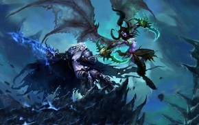 RPG, Illidan Stormrage, genderswap, World of Warcraft Wrath of the Lich King, Arthas