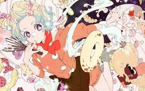 Teppelin Nia, Tengen Toppa Gurren Lagann, anime girls, anime