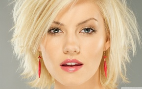 Elisha Cuthbert, actress, girl, blonde, celebrity, face