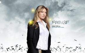 Fringe TV series, Anna Torv, Olivia Dunham, girl, blonde