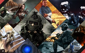 Portal, enigma, crusader kings, Diablo, Portal 2, Grand Theft Auto V