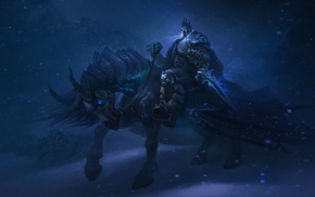 horse, Arthas, World of Warcraft