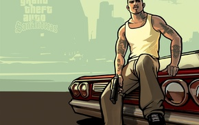 Grand Theft Auto San Andreas, video games