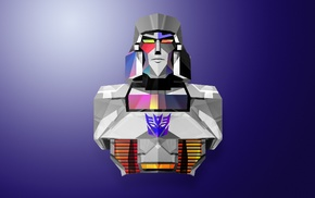 Justin Maller, Megatron, abstract, Transformers