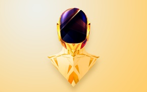 Justin Maller, Daft Punk, abstract