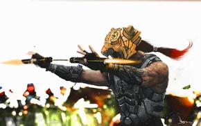 tiger, warrior