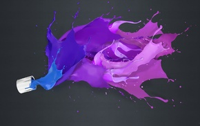 simple background, liquid, paint splatter, splashes