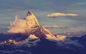 Matternhorn, nature, mountain
