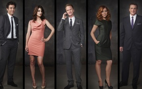 Alyson Hannigan, Cobie Smulders, Neil Patrick Harris, How I Met Your Mother