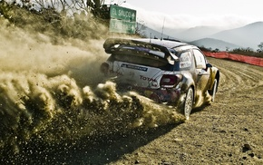 car, Sbastien Loeb, rally cars, wrc