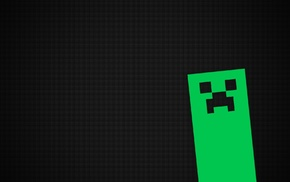 video games, Minecraft, creeper