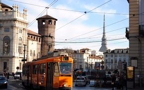 Italy, Torino, Turin, tram