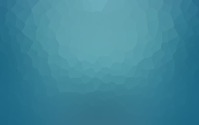 blue, low poly, minimalism