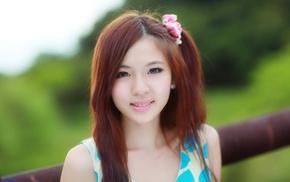 Asian, girl
