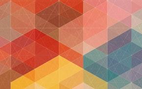 artwork, abstract, Simon C. Page, geometry, digital art, colorful