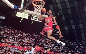 sports, Michael Jordan, jumping, legend, men, basketball