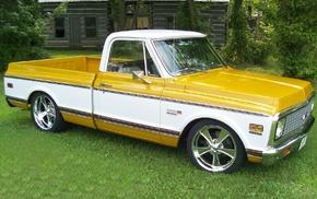 Chevrolet, Truck, 1967, 1971, custom, 1972