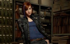 actress, Warehouse 13, redhead, Allison Scagliotti