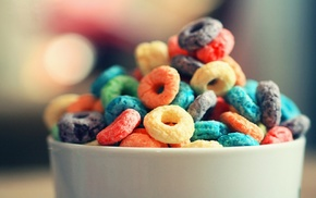 bokeh, cereal, breakfast