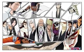 Urahara Kisuke, Ishida Uryu, Bleach, Ku, Hitsugaya Toshiro, Yasutora Sado