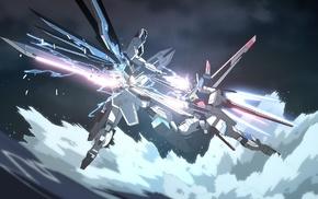Mobile Suit Gundam SEED, Gundam Seed, mech, Gundam