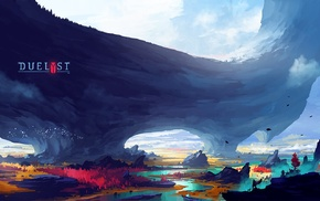 digital art, Digital 2D, concept art, artwork, Anton Fadeev, duelist