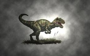 T, Rex, drawing, minimalism, nature, artwork