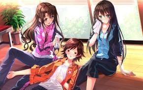 Swordsouls, anime, Shibuya Rin, THE iDOLMSTER Cinderella Girls, Honda Mio, Shimamura Uzuki