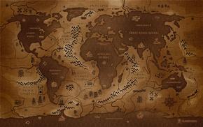 inverted, map, Vladstudio, world map, history