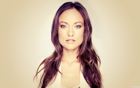 Olivia Wilde, actress, brunette, blue eyes, girl