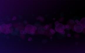 bokeh, dark, violet, minimalism, circle