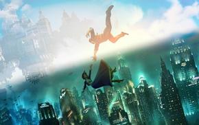 BioShock Infinite, Booker DeWitt, Elizabeth BioShock