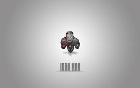 minimalism, artwork, Iron Man, cartoon