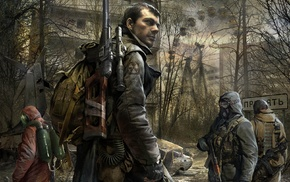 artwork, S.T.A.L.K.E.R. Call of Pripyat, video games