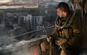 S.T.A.L.K.E.R. Call of Pripyat, video games, ruin, apocalyptic, S.T.A.L.K.E.R.
