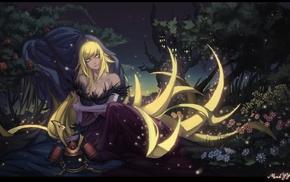 anime girls, anime, Monogatari Series, Oshino Shinobu, blonde