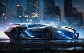 Khyzyl Saleem, Batmobile, Batman, Lamborghini Ankonian Concept