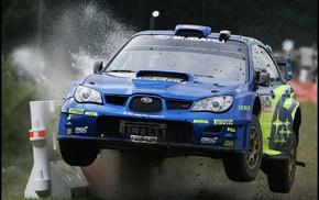 car, rally cars, Subaru