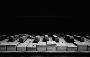 musical instrument, piano, music, dark, macro, dust