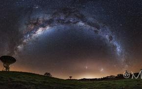 stars, nebula, space, satellite