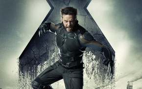 Hugh Jackman, X, Men Days of Future Past, Wolverine, movies